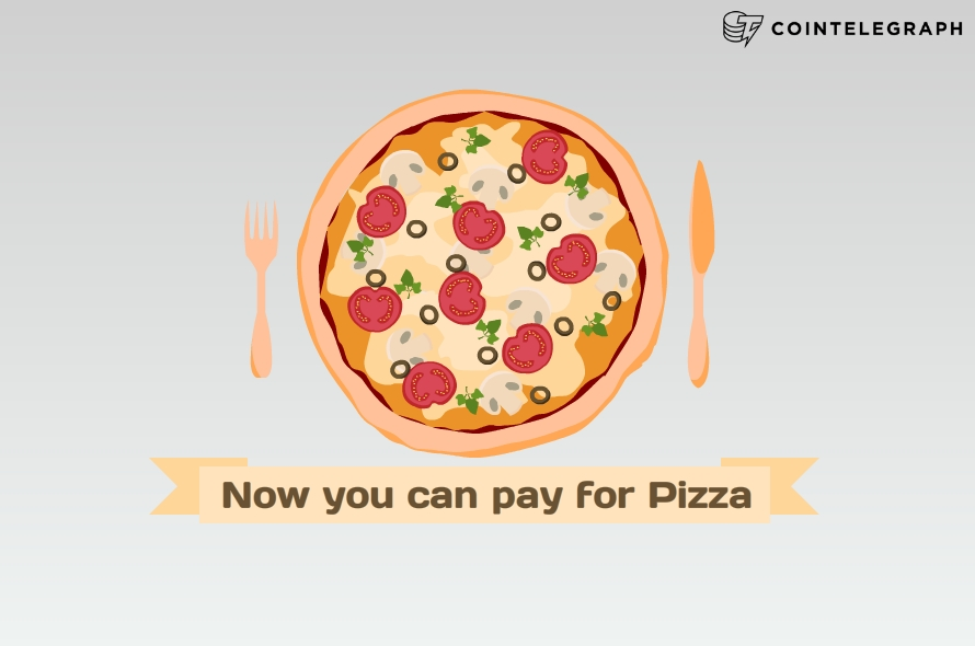 Bitcoin comes down to Earth: Now you can pay for Pizza