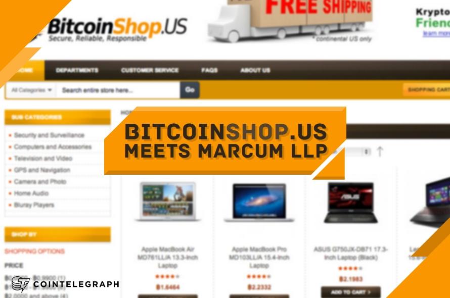 BitcoinShop.US meets Marcum LLP