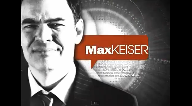 Max Keiser's Muddled Money-Speak