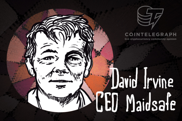 The Internet Made Safe: Interview with David Irvine, CEO, Maidsafe