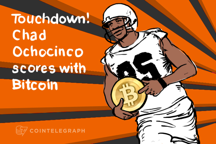 Chad Ochocinco Joins the Lineup of Sportsmen Interested in Bitcoin