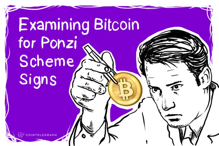 Examining Bitcoin for Ponzi Scheme Signs