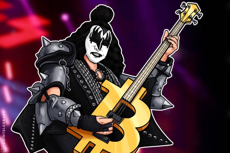 Vocalista da banda de rock Kiss Gene Simmons diz ser um fã do Bitcoin