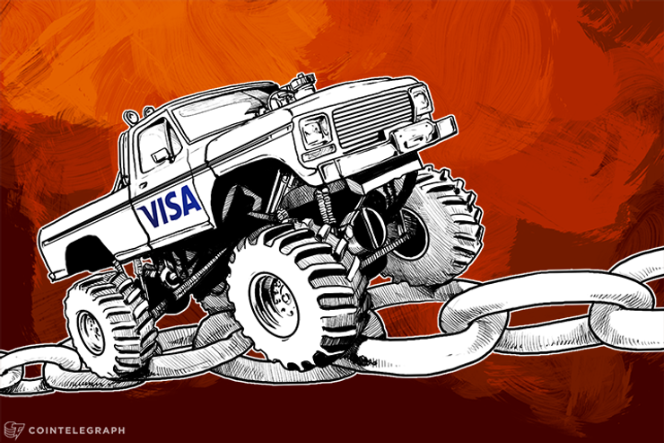 Visa & Bitcoin's Blockchain to Turn Cars into Mobile Wallets