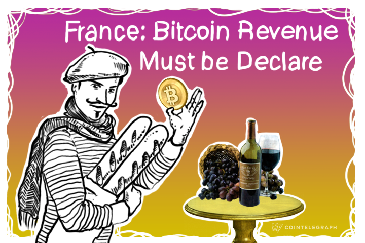 France: Bitcoin Revenue Must be Declared
