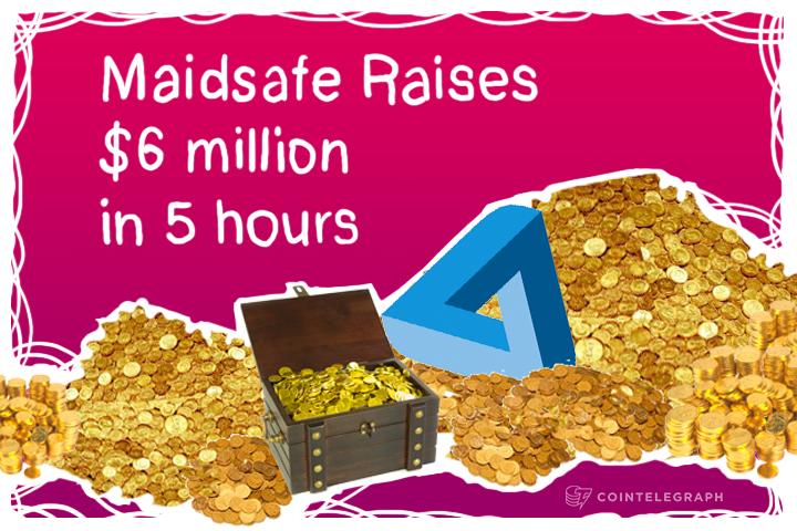 MaidSafe Completes Crowd-Sale in 5 hours
