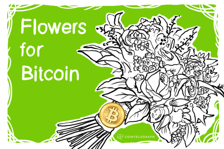 Flowers for Bitcoin