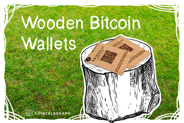 Wooden Bitcoin Wallets