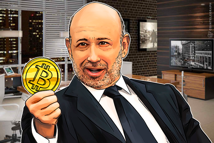 Goldman CEO Sees Bitcoin in the 'New World'