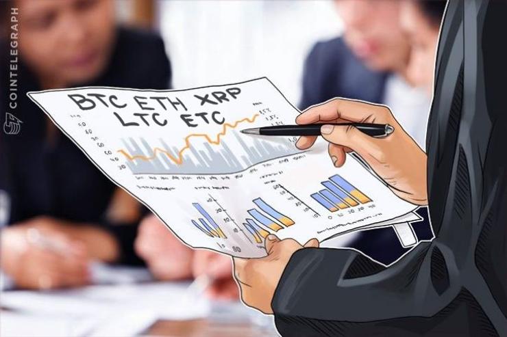 Análise de Preço, 26 de Julho: BTC, ETH, XRP, LTC e ETC