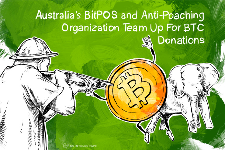 Australia's BitPOS and Anti-Poaching Organization Team Up For BTC Donations
