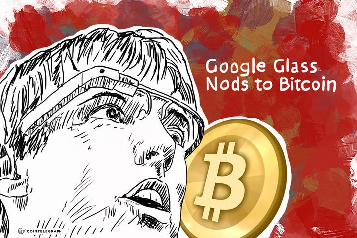 Google Glass Nods to Bitcoin