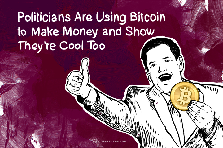 Politicians Are Using Bitcoin to Make Money and Show They're Cool Too