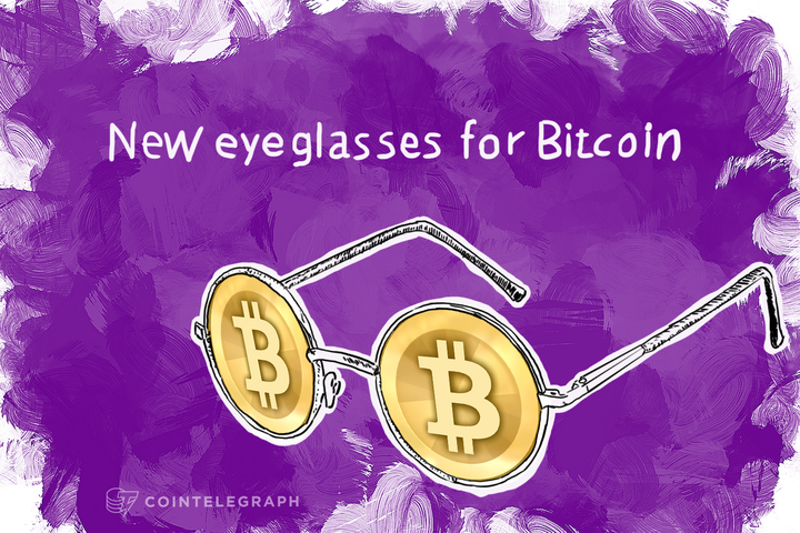 New eyeglasses for Bitcoin