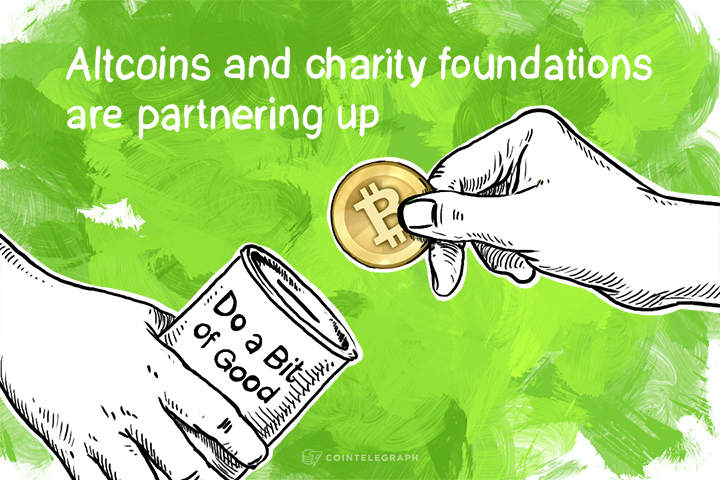 Give a Bit to Charity with Givecoin