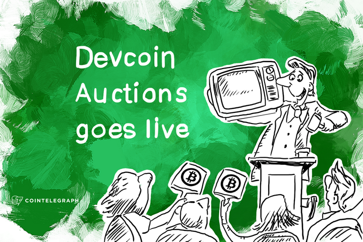 Devcoin Auctions goes live