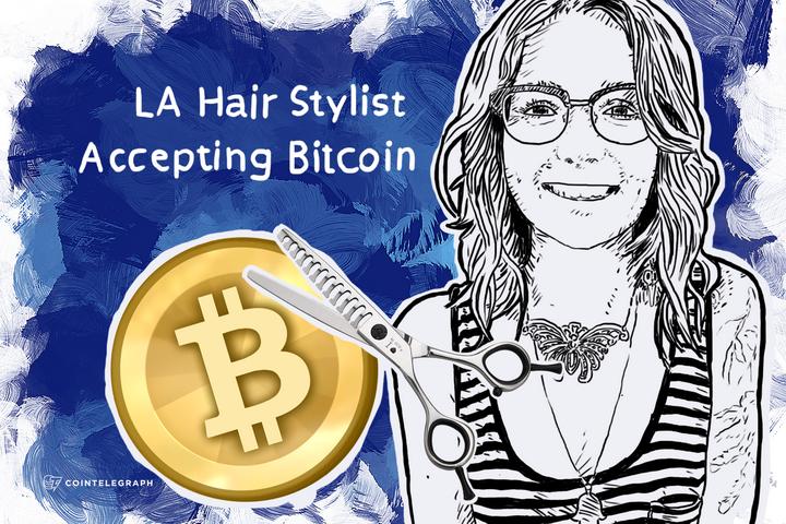LA Hair Stylist Accepting Bitcoin