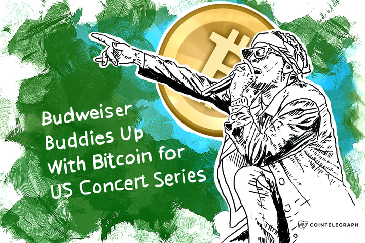 Budweiser Buddies Up With Bitcoin for US Concert Series