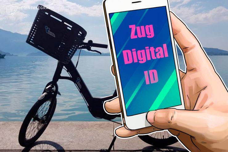 """Zug testet """"Crypto Bike Sharing"""" mit städtischer Blockchain-ID"""