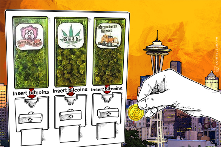 Bitcoin-Friendly Cannabis Vending Machines Make 'Historic' Debut in Seattle
