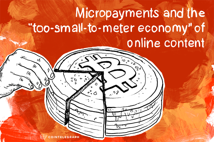 Micropayments and the 'too-small-to-meter economy' of online content