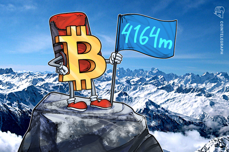 Swiss Crypto Startup Makes 'Highest' Bitcoin Trade Ever at 4164m