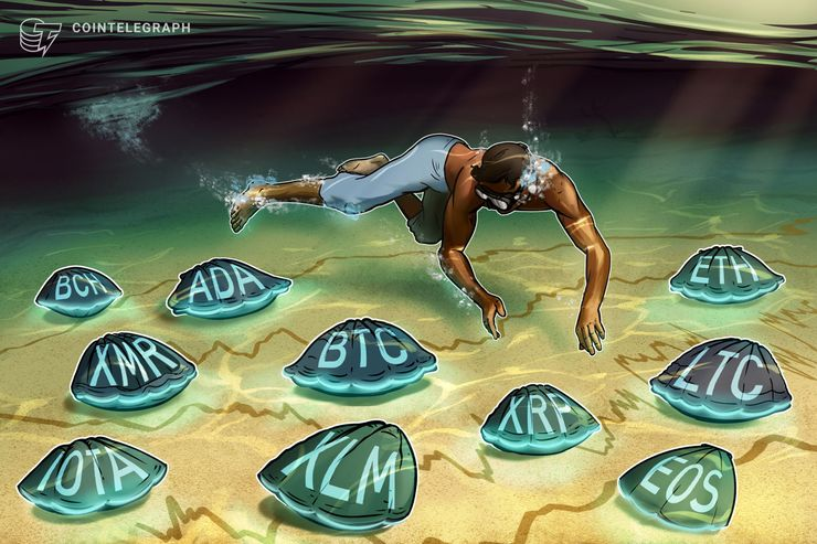 トレンドの転換点を迎えたのは?ビットコイン、イーサ、リップルなど主要仮想通貨10種のテクニカル分析