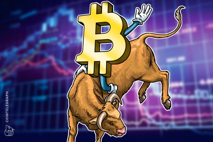 El gráfico de precios de Bitcoin se acerca a la cruz alcista que la última vez precedió a los 10 mil dólares
