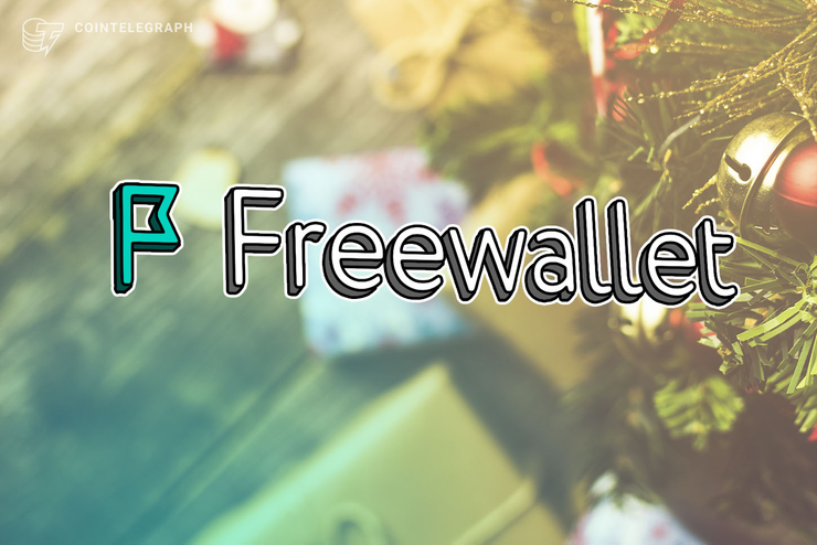 Freewallet X-mas: 64% Off on Buying Crypto With a Card