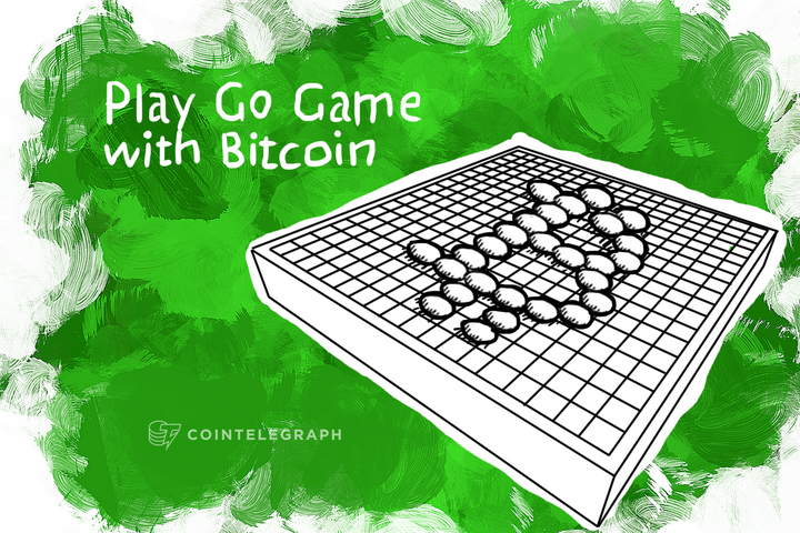 Play Go Game with Bitcoin