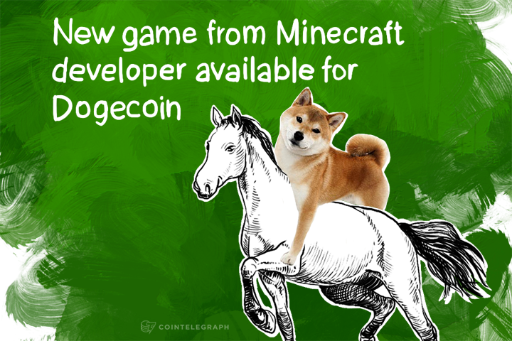 New game from Minecraft developer available for Dogecoin