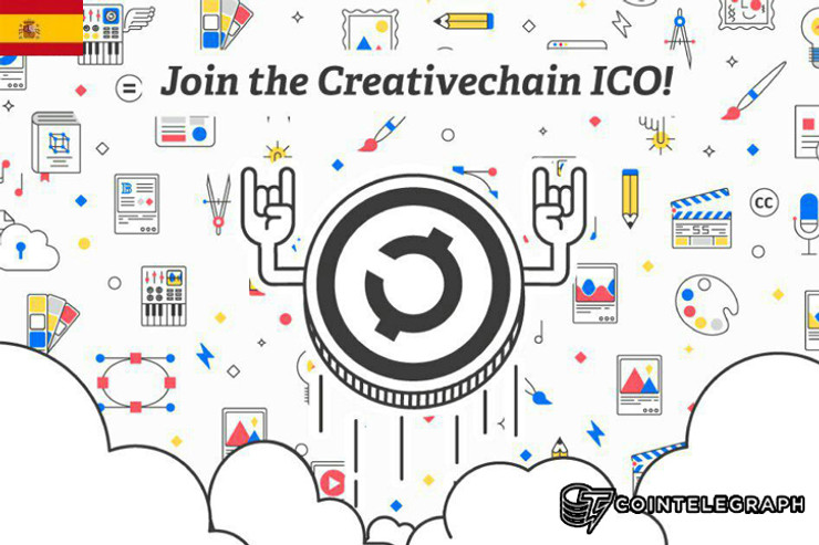 La plataforma descentralizada de contenidos multimedia Creativechain lanza una ICO