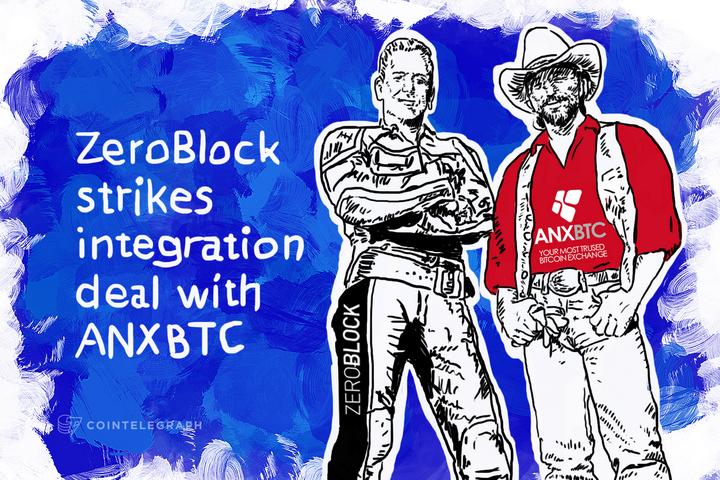 ZeroBlock strikes integration deal with ANXBTC