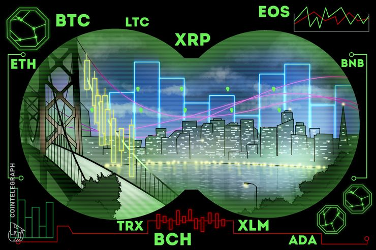 Bitcoin, Ethereum, Ripple, Litecoin, EOS, Bitcoin Cash, Binance Coin, Stellar, Cardano, Tron: Price Analysis, March 25