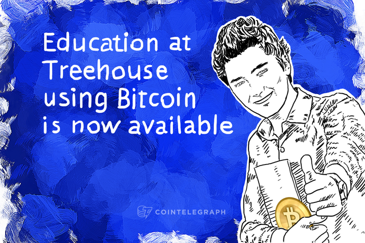 Education at Treehouse using Bitcoin is now available