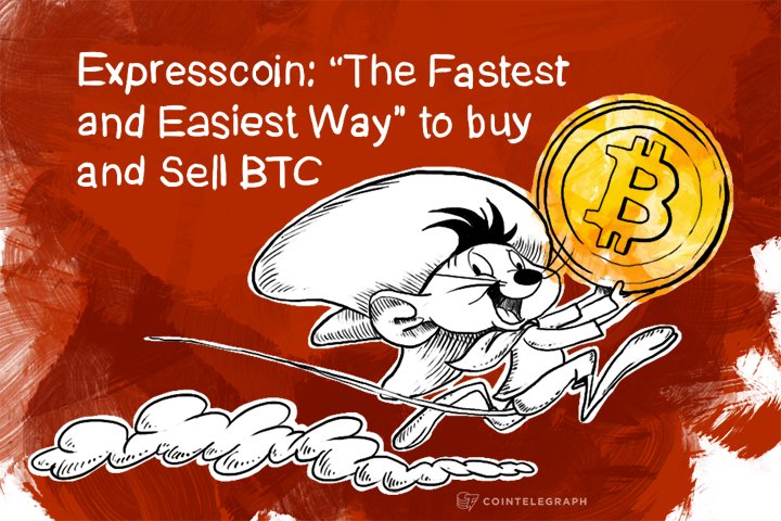 """Expresscoin: """"The Fastest and Easiest Way"""" to Buy and Sell BTC"""