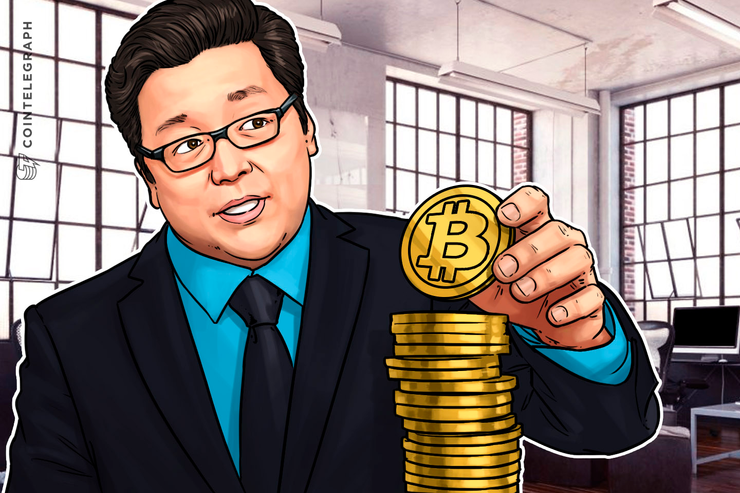 Wall Street's Tom Lee Says Bitcoin Price to Hit $22K by Year's End
