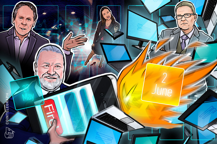 Hodler's Digest, May 27–June 2: Top Stories, Price Movements, Quotes and FUD of the Week