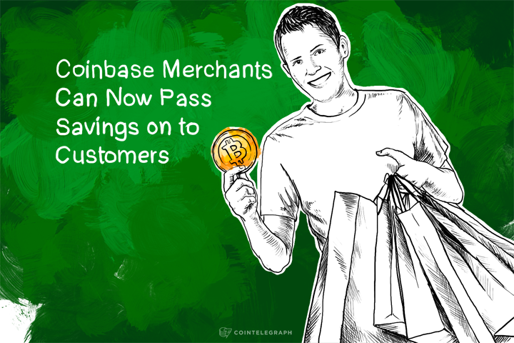 BTC Cost Efficiency: Coinbase Merchants Can Now Pass Savings on to Customers