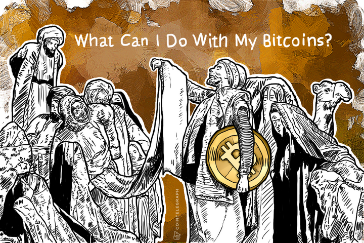 What Can I Do With My Bitcoins?