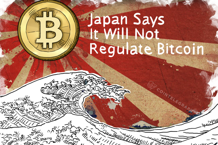 Japan Says It Will Not Regulate Bitcoin