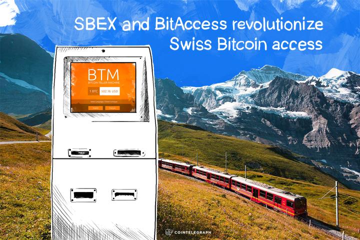 SBEX and BitAccess revolutionize Swiss Bitcoin access