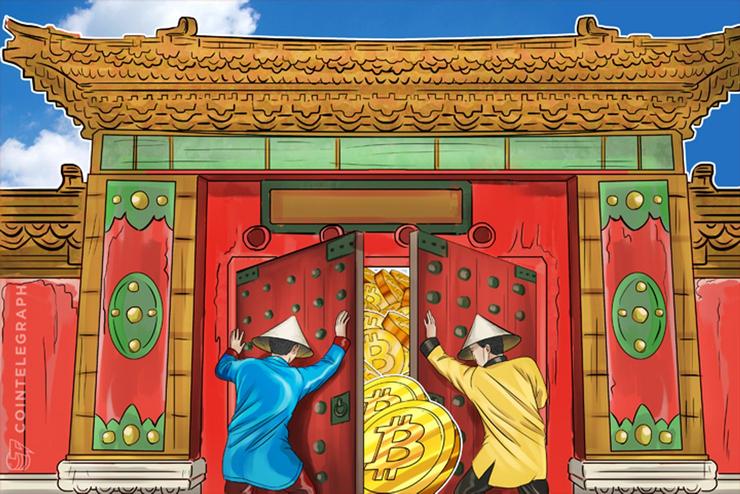 仮想通貨ビットコイン、5月取引高は13ヵ月ぶりの高水準 中国人が相場を動かした説が高まる