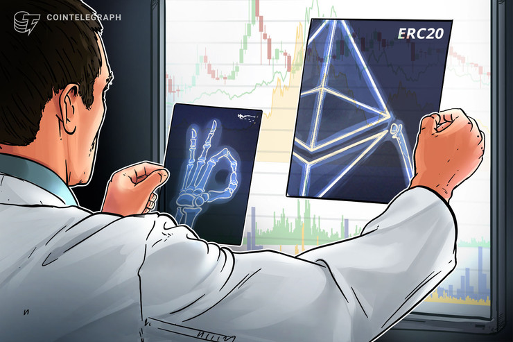 ERC-20 Tokens Make up About 50% of Entire ETH Blockchain