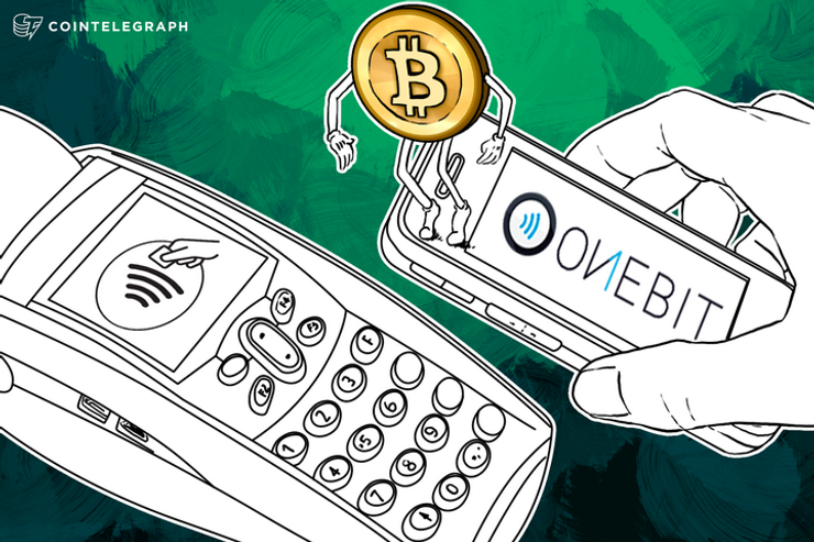 OneBit: Pay with Bitcoin Using NFC at Any Credit Card Accepting Merchant