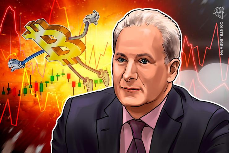 """Peter Schiff: """"Bitcoin wird zurück auf den Boden der Tatsachen krachen"""""""