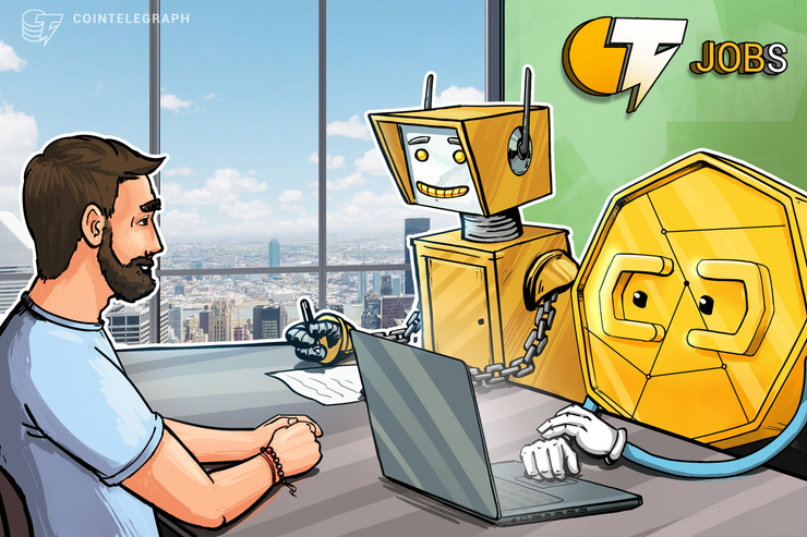 Cointelegraph lanza una plataforma de listados de trabajos para Blockchain, criptoindustrias