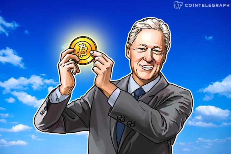 Bill Clinton Receives His First Bitcoin