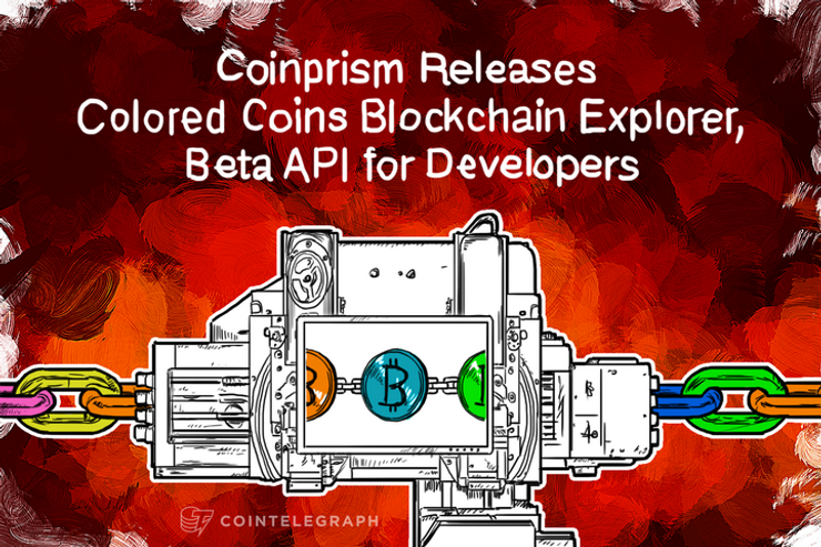 Coinprism Releases Colored Coins Blockchain Explorer, Beta API for Developers