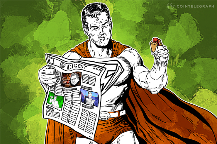 MAY 11 DIGEST: NASDAQ Tests Blockchain Technology, Rand Paul Names Overstock's Patrick Byrne As A Member Of Tech Council